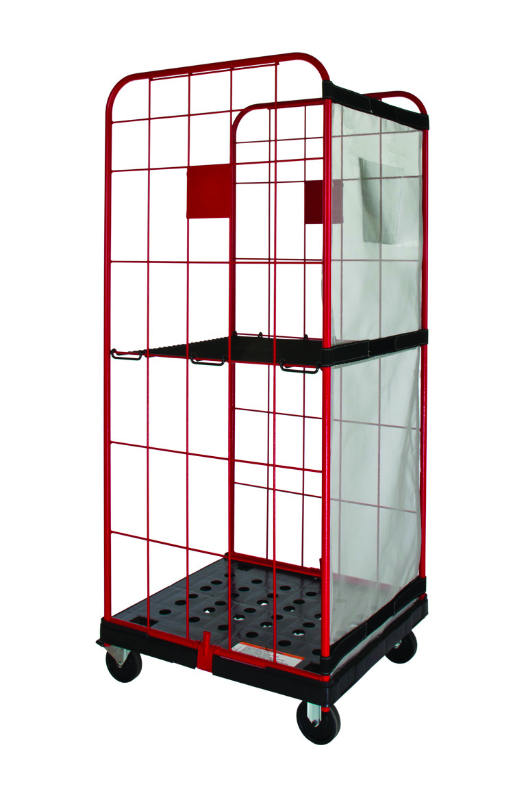 28_ DC cart w_shelf & shelf 8822